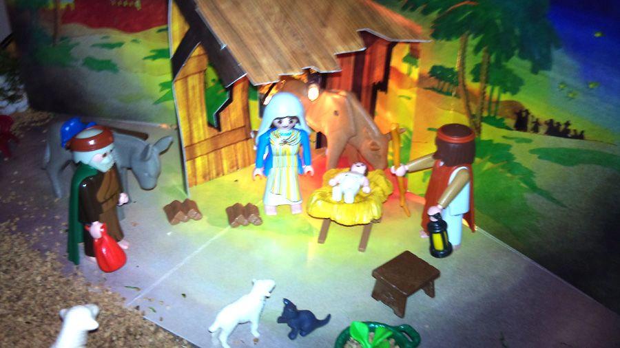 Portal de Belén de los Playmobil