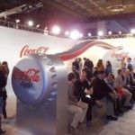Stand de Coca-Cola light en Arco