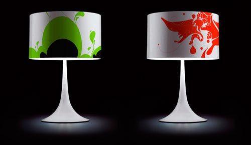 Decoración del hogar con lámparas