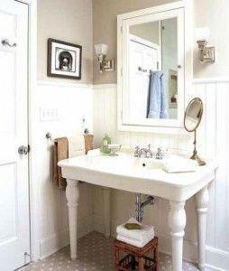 baño vintage decoración