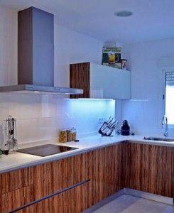 luz indirecta cocina