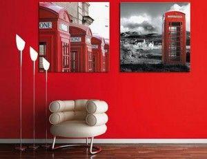 rojo decoración