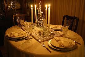 cena de gala en casa